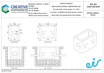 Creative Concrete Eir JB4 Junction Box